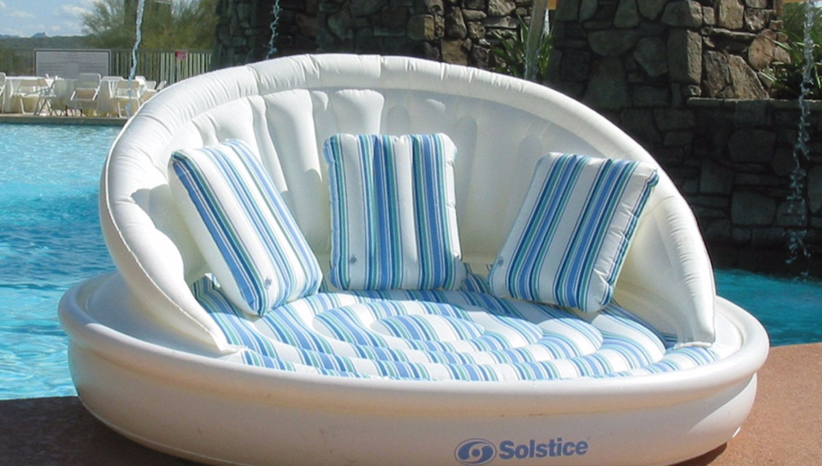 Superieur The Solstice Aqua Sofa By Swimline Is The Ultimate Pool Float. It Is  Comfortable, Stylish, And Easy To Use. This Float Is Built For Comfort And  Luxury With ...
